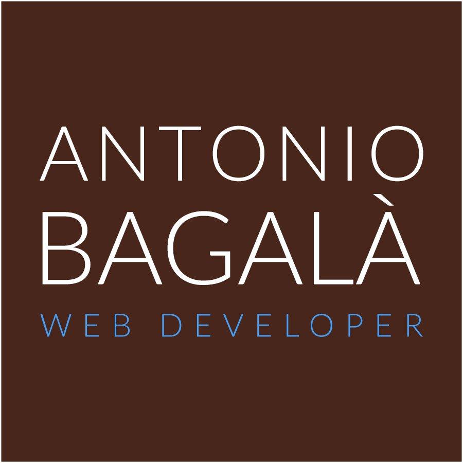 antonio bagala web developer